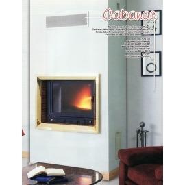 Камин дровяной Cheminees Diffusion Cabanac (облицовка) - Фото