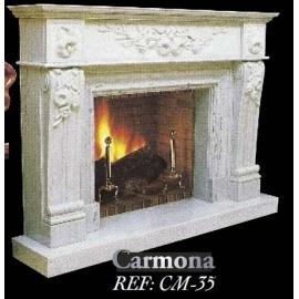 Камин дровяной Carmona CM - 35 (облицовка) - Фото