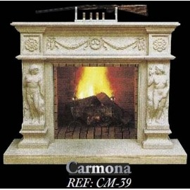 Камин дровяной Carmona CM - 39 (облицовка) - Фото