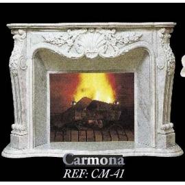 Камин дровяной Carmona CM - 41 (облицовка) - Фото