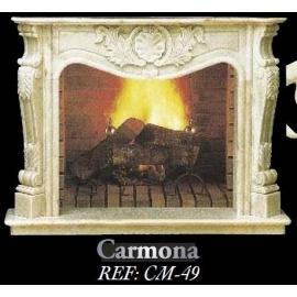Камин дровяной Carmona CM - 49 (облицовка) - Фото