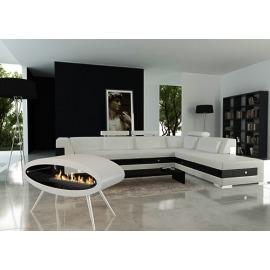 Биокамин эксклюзивный Decoflame Ellipse Floor White - Фото