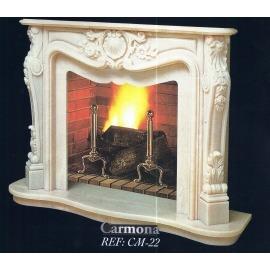 Камин дровяной Carmona CM-22 (облицовка) - Фото