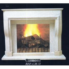 Камин дровяной Carmona CM-31 (облицовка) - Фото