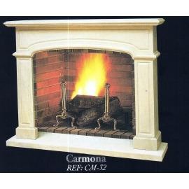 Камин дровяной Carmona CM-32 (облицовка) - Фото