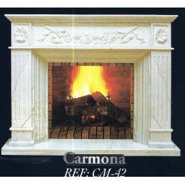 Камин дровяной Carmona CM-42 (облицовка) - Фото