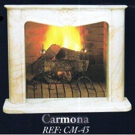 Камин дровяной Carmona CM-43 (облицовка) - Фото
