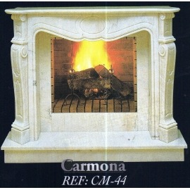 Камин дровяной Carmona CM-44 (облицовка) - Фото