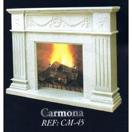 Камин дровяной Carmona CM-45 (облицовка) - Фото