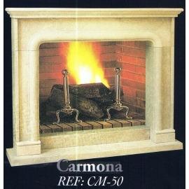 Камин дровяной Carmona CM-50  (облицовка) - Фото