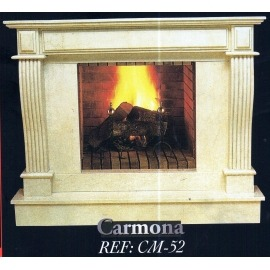Камин дровяной Carmona CM-52 (облицовка) - Фото