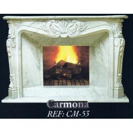 Камин дровяной Carmona CM-53 (облицовка) - Фото