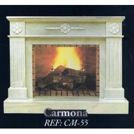 Камин дровяной Carmona CM-55 (облицовка) - Фото
