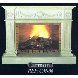 Камин дровяной Carmona CM-56 (облицовка) - Фото