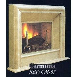 Камин дровяной Carmona CM-57 (облицовка) - Фото