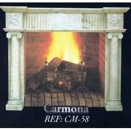 Камин дровяной Carmona CM-58 (облицовка) - Фото