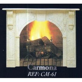 Камин дровяной Carmona CM-61  (облицовка) - Фото