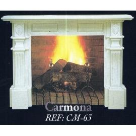 Камин дровяной Carmona CM-63 (облицовка) - Фото
