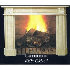 Камин дровяной Carmona CM-64 (облицовка) - Фото