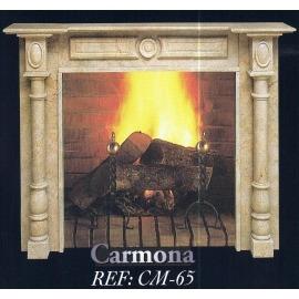 Камин дровяной Carmona CM-65 (облицовка) - Фото