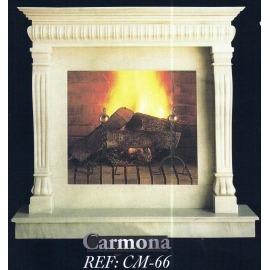 Камин дровяной Carmona CM-66 (облицовка) - Фото
