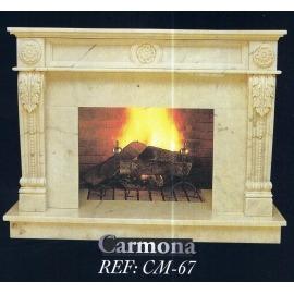 Камин дровяной Carmona CM-67 (облицовка) - Фото