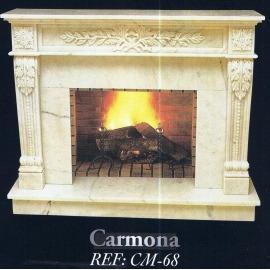 Камин дровяной Carmona CM-68 (облицовка) - Фото