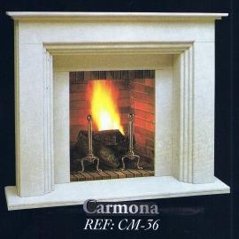 Камин дровяной Carmona CM-36 (облицовка) - Фото