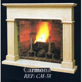 Камин дровяной Carmona CM-38 (облицовка) - Фото