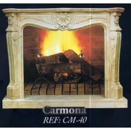 Камин дровяной Carmona CM-40 (облицовка) - Фото