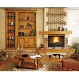 Камин дровяной Cheminees Philippe Lancel (Ланцель) (облицовка) - Фото