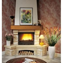Камин дровяной Cheminees Philippe Sangatte (Сангат) (облицовка) - Фото