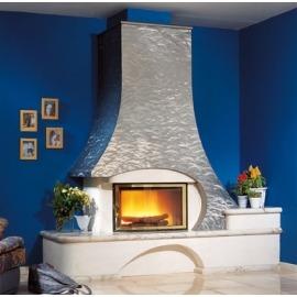 Камин дровяной Cheminees Philippe Saumur (Сомюр) (облицовка) - Фото