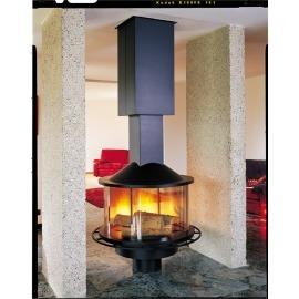Камин дровяной Cheminees Philippe Stratus (Стратус) (облицовка) - Фото