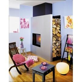 Камин дровяной Cheminees Philippe Vaucline Angle (облицовка) - Фото