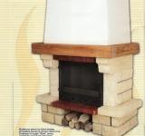 Камин дровяной Cheminees Diffusion Argonnay - Фото